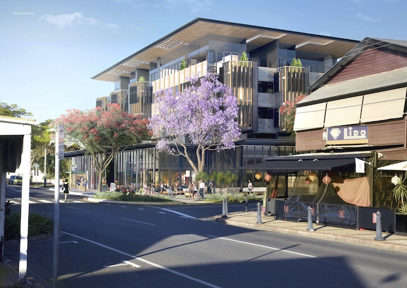 Mixed Use Development at Racecourse Road, Ascot
