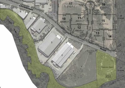 Industrial Estate Subdivision at Stapylton